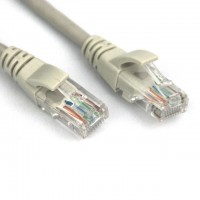 Cat5e UTP Crossover Patch Ethernet Cable (Gray)